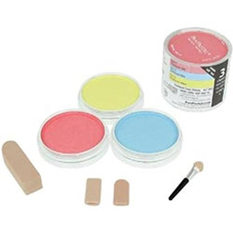 Colorfin Pan Ultra Soft Artist Pastel Set 9ml 3 kg-Pearlescent-Primary by Colorfin