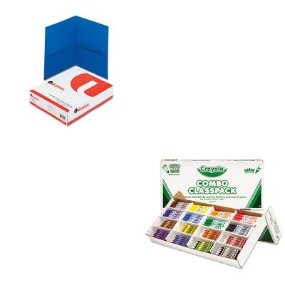 KITCYO523348UNV56601 - Value Kit - Crayola Classpack Crayons w/Markers (CYO523348) and Universal
