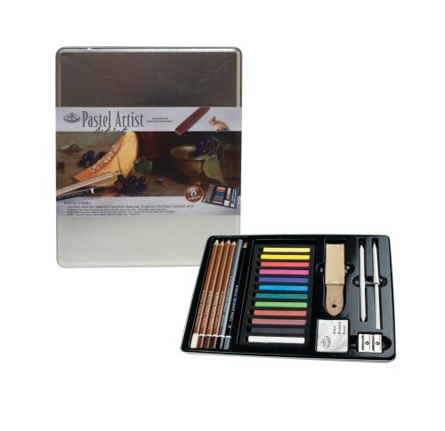 Royal & Langnickel Standard Tin Pastel Artist Art Set