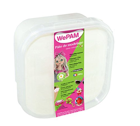 WePAM PFWBBB-500 Airtight Sealed Box - 40 Different Colours - White