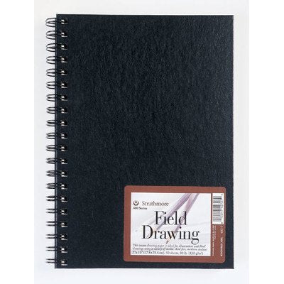 "Strathmore 400 Series Wiredbound Drawing Art Journal, 7"" x 10"""