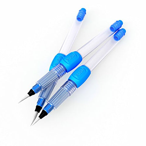 Water Brush Pen Set For Water Color Painting Watercolor Pen for Calligraphy Lettering Aquarelle