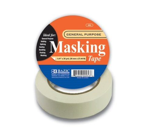 BAZIC (30 Yards) General Purpose Masking Tape