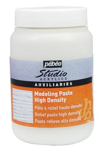 Pebeo Studio Acrylics Auxiliaries 250ml High Density Modelling Paste Jar
