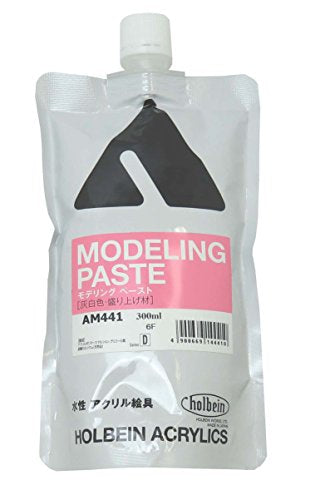 Holbein - Artist Heavy Body Acrylic Modeling Paste - Artist Heavy Body Acrylic Medium Modeling