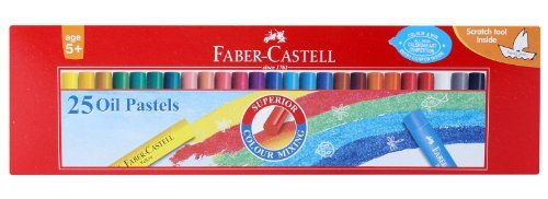 Faber-castell Oil Pastels Set of 25 by Faber-Castell