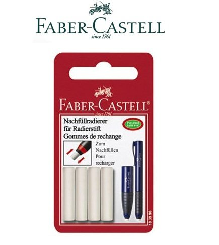 Faber Castell 4 Refill for Design Eraser and Sharpener