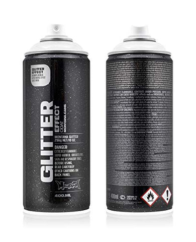Montana Cans MXE-GCSILV Montana Effect 400 ml Color, Glitter Coat Spray Paint