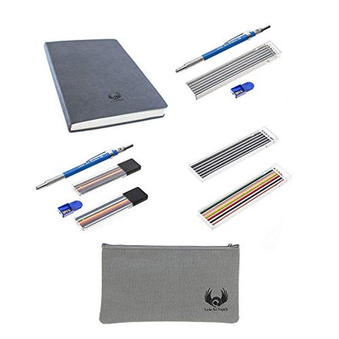 Leda 11 Piece Art Supplies Gift Set for Pencil Drawing