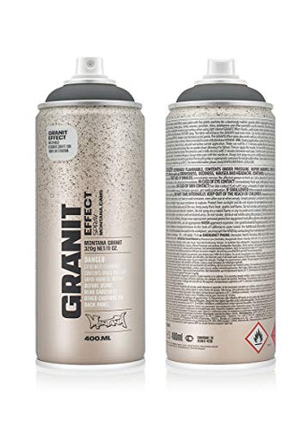 Montana Cans MXE-G7050 Montana Granit 400 ml Color, Grey Spray Paint,
