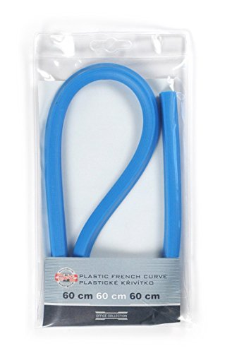 Koh-I-Noor Hardtmuth Plastic French Curve 60cm, 1pc