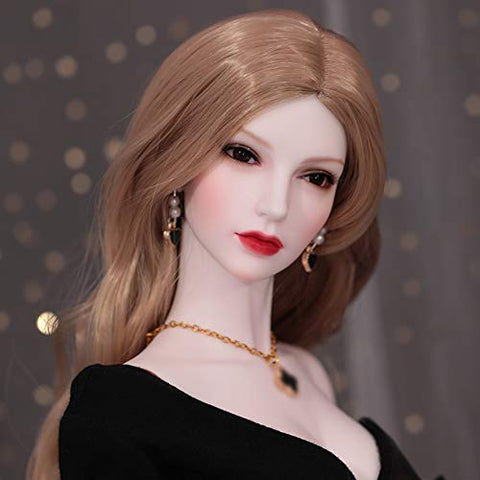 BJD Doll 1/3 SD Dolls Full Set 65 cm 25.59 Inch Ball Jointed Doll with All Clothes Shoes Socks Wig Makeup DIY Toys Cosplay Fashion Dolls Best Gift for Girls
