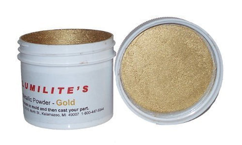 Alumilite gold metallic powder