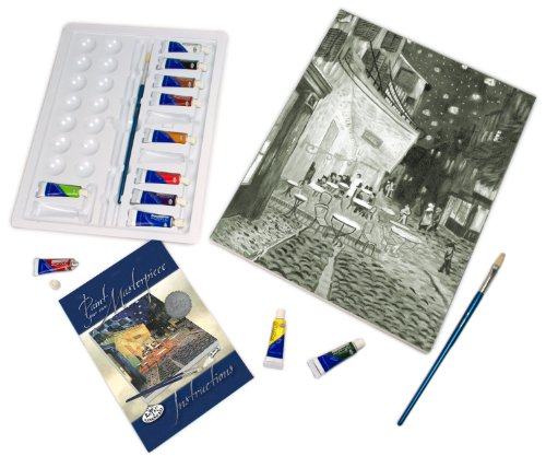 Royal & Langnickel Paint Your Own Masterpiece Painting Set, Cafe Terrace at Night