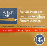 Artist's Loft Fundamentals Acrylic Paint 14 Piece Set by Artists Loft