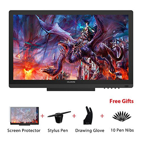 Huion KAMVAS GT-191 Graphics Drawing Tablet Monitor 8192 Levels Pen Pressure 19.5 Inch HD 1920