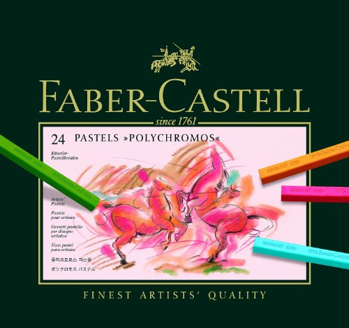 Faber-Castell Polychromos Pastels - Set of 24