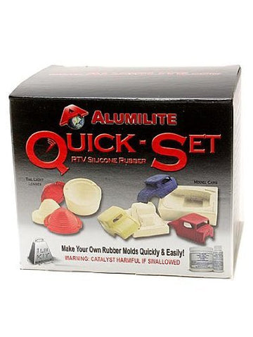 Alumilite Quick-Set Mold Rubber Kit mold-making kit 1 lb