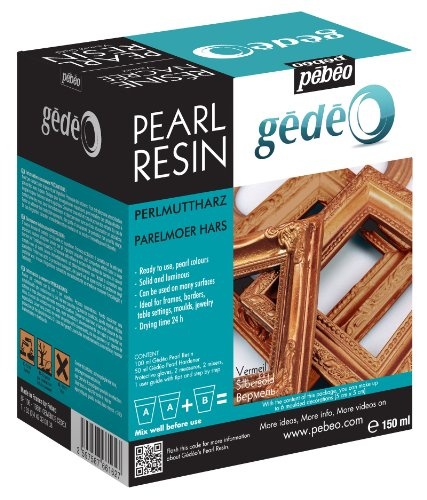Pebeo Gedeo Pearl Resin, 150ml, Vermeil