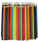 Faber-Castell 120148 Environmentally-Friendly Colouring Pencils 48-Pack Sharpener Cardboard Box