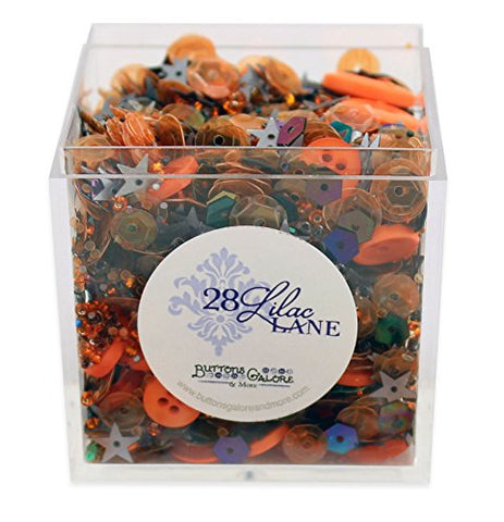 Witches Brew Shaker Mix 60 grams Sequins Buttons Seed Beads