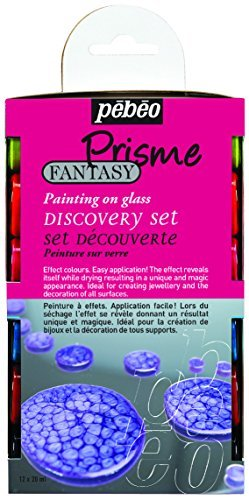 Pebeo Discovery Set 12x 20ml Prisme Fantasy Painting Effects by Pebeo
