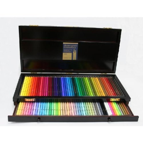 Holbein Artist Colored Pencil 150 Colors Set Wooden box OP946