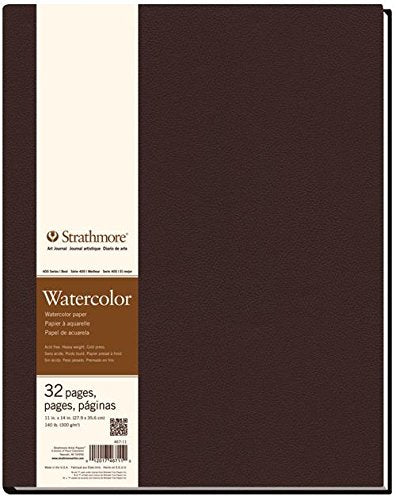 Strathmore STR-467-11 32 Sheet No.140 Watercolor Art Journal, 11 by 14""