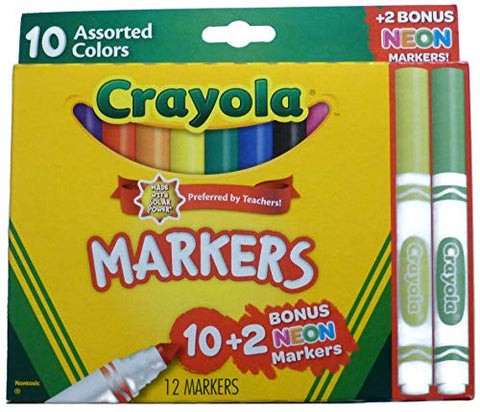 Crayola Markers 12 Pack