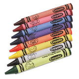 Jumbo Classpack Crayons, 25 Each of 8 Colors, 200/Set, Sold as 200 Each