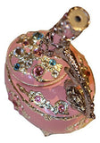 Pink Animated Kaleidoscope Music Box with Crystallized Swarovski Elements playing Fur Elise