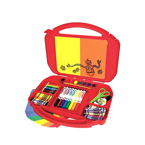 Crayola Ultimate Art Case with Easel (Color May Vary), (04-5674)