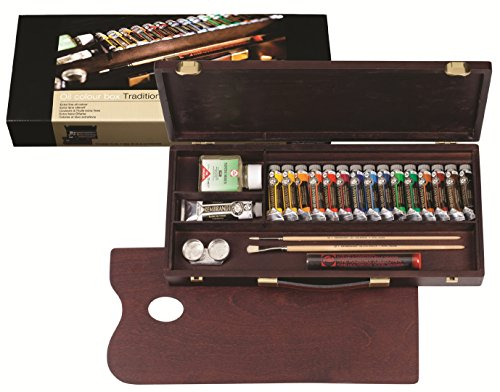 Rembrandt oil paints luxury box 16 colors 410 847 [HTRC 3] (japan import)