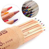 Marco Natural Stationery Art Supplies Nature Wood Colored Pencils Drawing Sketch Pencils Office