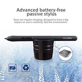 "XP-PEN Star03 12"" Graphics Drawing Pen Tablet Drawing Tablet Battery-free Stylus Passive Pen"