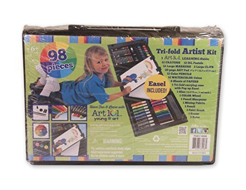 Tri-fold Artist Kit 98 pieces
