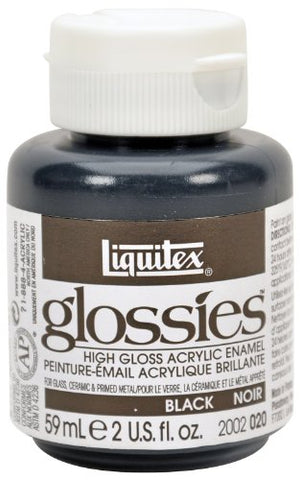 Liquitex Professional Glossies Paint 2-oz jar, Black