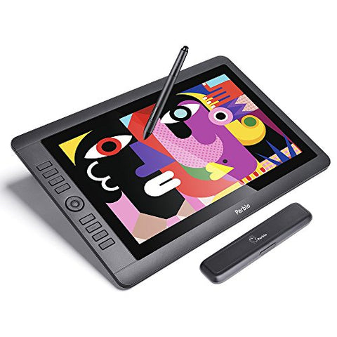 "Parblo Coast16 Digital Graphic Drawing Monitor 15.6"" with 8192 Level Battery Free Pen for Digital"