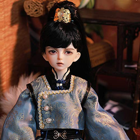 YILIAN 1/4 BJD Dolls Fashion Figure Toys 42cm Ball Joints SD Doll with Clothes Set Wig Shoes and Accessories, with Gift Box, for Girls Boys Gift