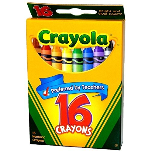 Crayola Classic Color Pack Crayons 16 ea ( Pack of 12)