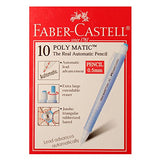 Faber-castell Poly Matic Mechanical Pencil Automatic 0.5mm - Long Eraser Clear