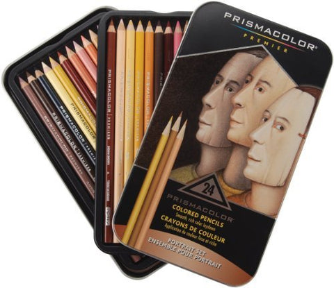 Brand New Prismacolor Premier Colored Pencils 24/Pkg-Portrait Brand New