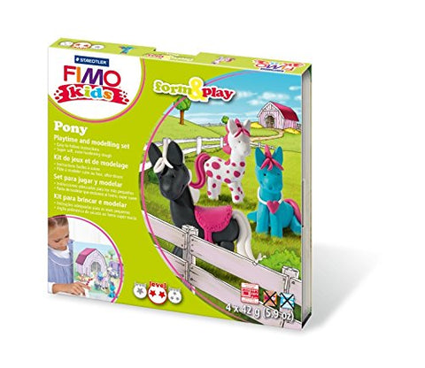 168g Fimo Pony Form & Play