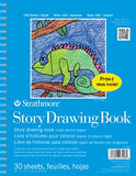 Strathmore STR-27-408 30 Sheet Kids Story Drawing Pad, 8.5 by 11""