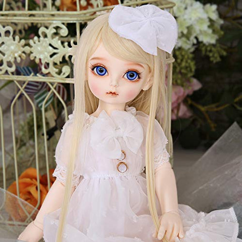 1/4 BJD Doll 39 cm 15.4Inch Ball Jointed SD Dolls Children's Creative Toys with Clothes Outfit Shoes Wig Hair Makeup, Girl Lovers