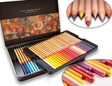 Colored pencils by Marco - Renoir Series | Premium color pencils, Soft core, Vibrant colors, 48