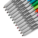 Sharpie 32707 Retractable Permanent Markers, Fine Point, Assorted Colors, 12 Count