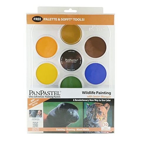 Panpastel 10 Color Wildlife Painting Set