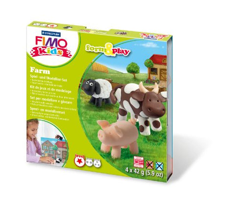 STAEDTLER 8034 01 LY FIMO kids form&play Farm
