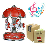 J house lifestyle Carousel Music Box ,Carousel Party Supplies Christmas Music Boxes,Carrying You